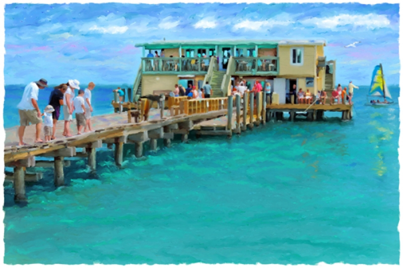 Fish eat relax anna maria city pier limited for Anna maria island fishing pier